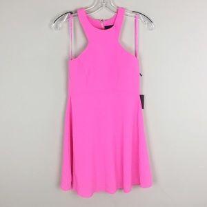 NBD x Naver Twins | Hot Pink Mini Dress
